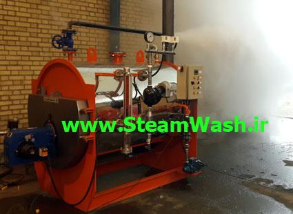 قدرت بخار دستگاه کارواش بخار