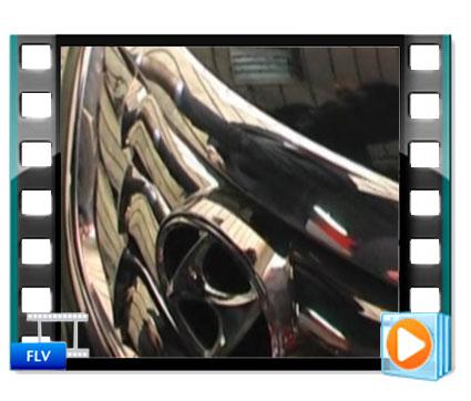 فیلم انجام روشویی اتومبیل با کارواش بخار