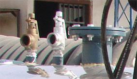 شیر فشار شکن در کارواش بخار استاندارد