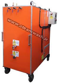 دستگاه کارواش بخار ژنراتوری طرح متوسط یک نازله