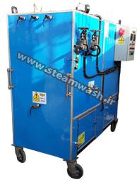 دستگاه کارواش بخار ژنراتوری طرح متوسط سه نازله