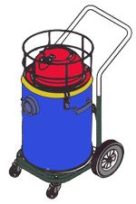 جاروبرقی آب خاک بخار کارواش