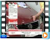فیلم اثر ضد ضربه بودن نانو کارواش بر بدنه خودرو