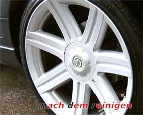تمیز کننده چرخ های ماشین
