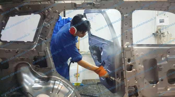 Iran Khodro steam cleaning 01