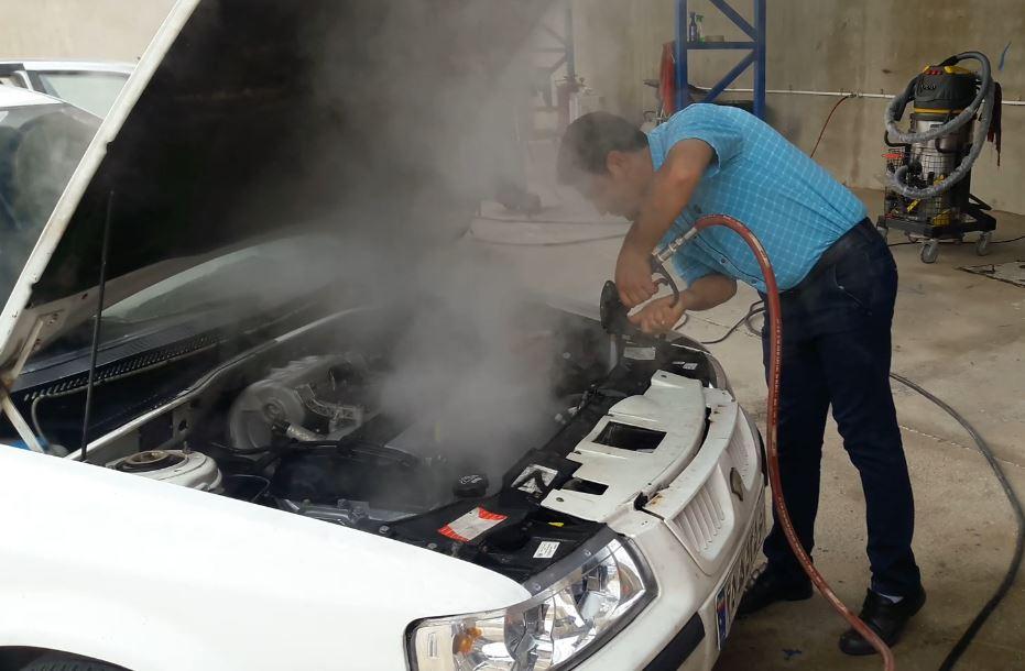 اصول موتورشویی با بخار