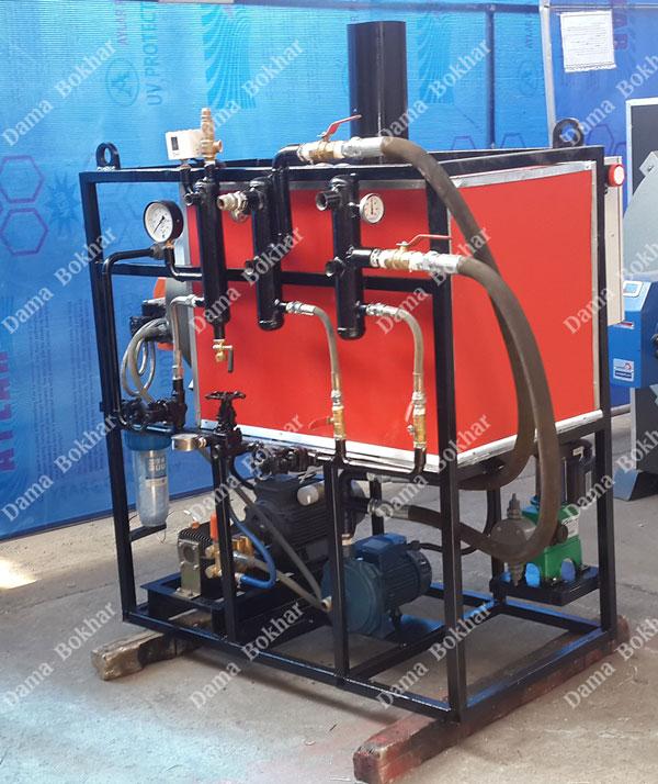 طراحی و ساخت مولتی استیم جت پرشر برای اولین بار در شرکت صنایع دما بخار مشهد
