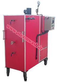 دستگاه جدید کارواش بخار صنعتی با بخار تر