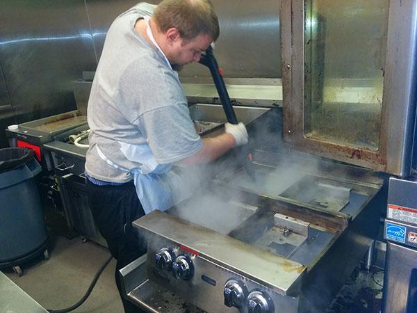 کاربرد بخارشوی صنعتی در آشپزخانه