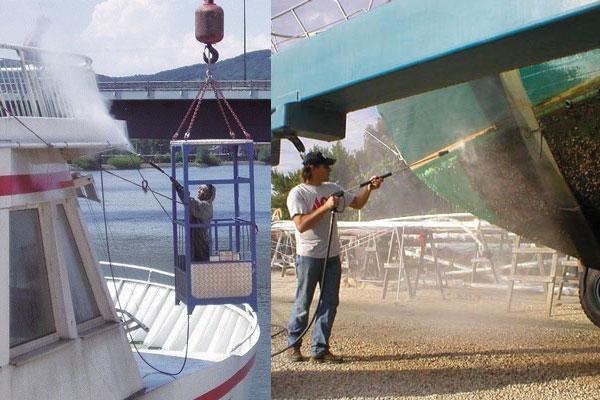 شستشوی کشتی - واترجت - جت کلینر